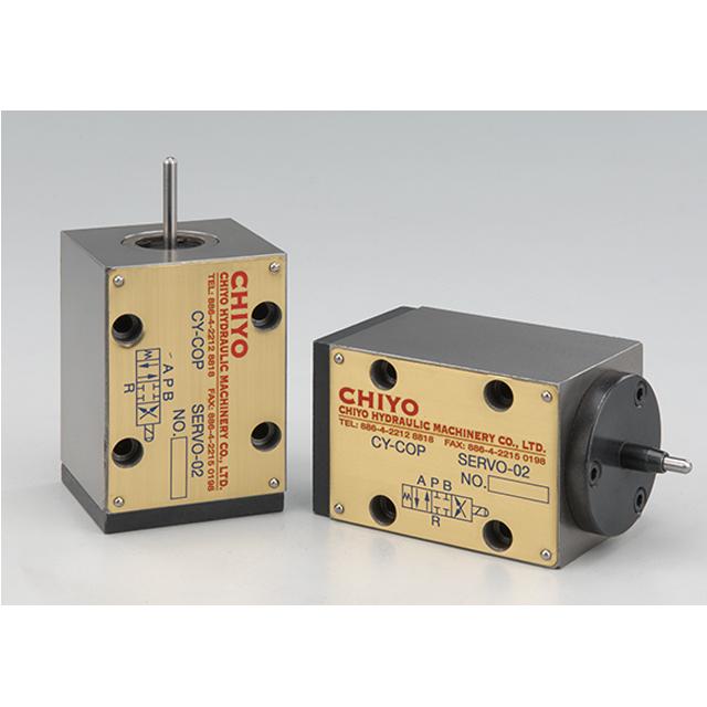 Mechanical servo valve.
